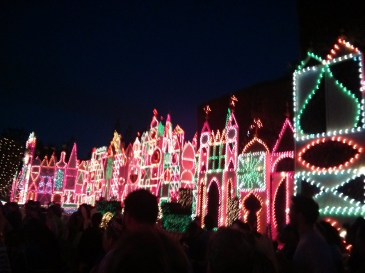 It's a Small World is beautiful no matter what time of day.